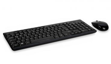 Inter-Tech KB-208 Kabellose Desktop-Set (Funk Tastatur & Maus)