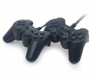 Gembird Double USB Gamepad mit Dual-Vibration