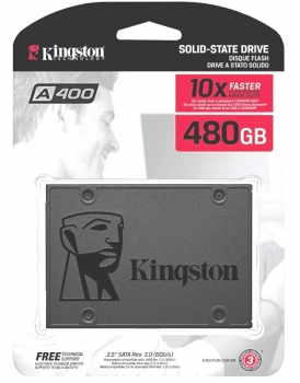 480GB SSD Kingston A400 (500/450)