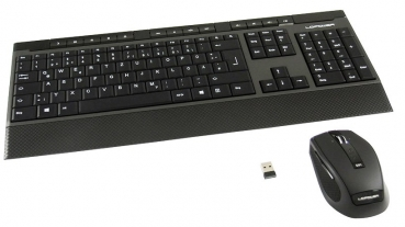 LC-Power LC-KEY Kabellose Desktop-Set (Funk Tastatur & Maus)