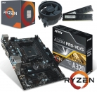 AMD Ryzen 5 2600 / 8GB DDR4 / PCIe 3.0 x16  / HD Sound / GLAN